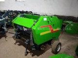 Три цветовых сено пресс машины для компактных тракторов соломы пресс-подборщика