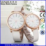 Il modo su ordinazione del quarzo della vigilanza di signore di marchio coppia gli orologi (Wy-088GB)