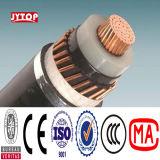 26/35kv condutores de cobre Isolados em XLPE cabo de alimentação 1x630mm quadrados