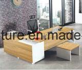 Bureau en bois de Customied de meubles de bureau avec le Tableau latéral