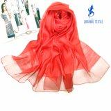 lenço de 70%Linen 30%Silk para a senhora Mulher