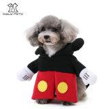 Vêtements de costume de produits d'animal familier de Mickey pour des crabots et des chats