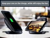 Schneller Telefon-Halter, der Qi-drahtlose Aufladeeinheit für iPhone Samsung auflädt