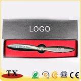 Apri di lettera su ordinazione del metallo della taglierina della busta di figura dell'Bambù-Elicottero di marchio