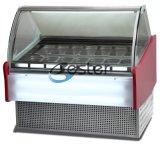 상업적인 냉장고 아이스크림 진열장 (GN1/3 팬) Wdb V-8