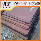 Desgaste - placa de acero revestida en duro resistente Nm500