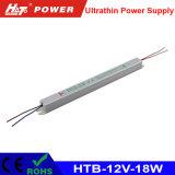 alimentazione elettrica ultrasottile di 12V 1.5A LED con le Htb-Serie di RoHS del Ce