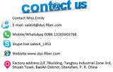 24 cordons de connexion de fibre optique du faisceau LC MPO Sm/mm