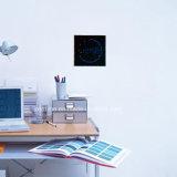 장식적인 LED 디지털 전자 벽 시간 기록계