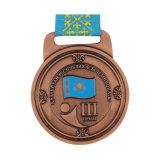 En 2018 à faible coût Médaille personnalisé en alliage de zinc métal