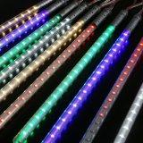 Mehrfarbenmeteor-Dusche-Regen LED beleuchtet 8 die Gefäß-Schneefall-Zeichenkette-feenhafte Beleuchtung für Weihnachtsbaum-Valentinsgruß-Feiertags-Partei-im Freiengarten