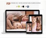 IP66 de openluchtCamera van WiFi 4G IP van het Netwerk van de Opsporing van de Motie van het Gebruik Draadloze