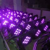 9X15W RGBW 4in1電池式LEDの同価はつくことができる