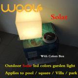 Woolf im Freien wasserdichte LED geleuchtete helle Energie-Solarkugel