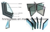 Glace creuse en verre isolée par 5+6A+5 isolante en verre