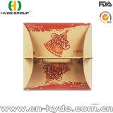 OEM/ODM het afdrukken van de Bruine Doos van de Pizza van het Handvat van de Verpakking van het Voedsel