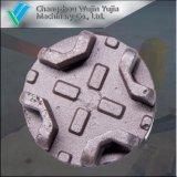 Moulage au sable de grande précision professionnel de haute précision pour des pièces de machines de Grianltural
