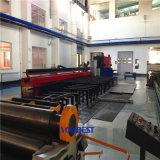 Prefabrication van de Spoel van de pijp de geschikt-Omhooggaande Machine van de Flens van het Lassen