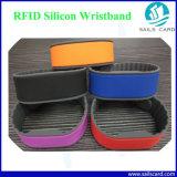 까만 색깔 55/60mm Em4100 T5577 RFID 가죽 소맷동