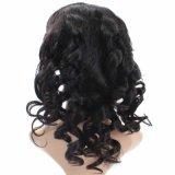 Pelucas llenas de calidad superior del pelo humano del frente del cordón del afroamericano