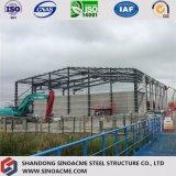 Costruzione d'acciaio pesante prefabbricata della fabbrica della costruzione