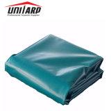 Lona de PVC resistente à prova de cobertura para contêiner de 40 pés