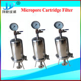 De sanitaire Filter van de Patroon van het Roestvrij staal Microporous