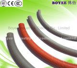 Gris de PVC flexible de los conductos de canalización de cables eléctricos