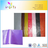 Cire de couleur des feuilles de papier