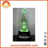 [لد] خفيفة حزب زخرفة مصل دمّ بلاستيكيّة زجاجة مصباح ضوء