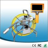 Sistema quente da câmera do esgoto da venda com cabo do impulso de 80m e DVR
