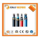 Incêndio livre do fumo do halogênio baixo - retardador, fio do fio de LSZH e cabos de controle blindados trançados