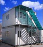 Casa do recipiente do baixo custo de África/cabine pré-fabricadas de Porta para a venda