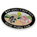 Distintivo su ordinazione del randello di rugby con il vostro proprio marchio