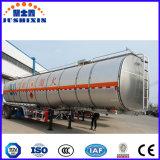 Reboque material de alumínio do petroleiro dos eixos de Fuwa do combustível três de 50000 litros de grande capacidade