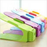 Many Colors Creative Non Adjustable plastic One Piece Shoe rack