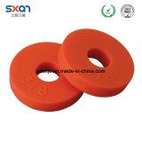 Ronda personalizado de caucho EPDM NBR la brida de la arandela de caucho de silicona