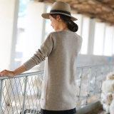Kaschmir-Wolljacke-Kleidung 2017 neuer Art-Frauen
