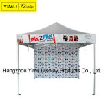 tenda piegante di alluminio della tenda foranea di cerimonia nuziale esterna di 6*6m con stampa su ordinazione