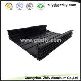 De zwarte Geanodiseerde Uitdrijving van het Aluminium voor de AutoBijlage van de Versterker