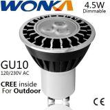 CREE LED GU10 Birnen-hohe Helligkeits-Scheinwerfer für Landschaftsbeleuchtung