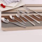 Jeu réglé de fourche de couteau de cuillère des couverts 3PCS portatifs