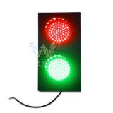 Luz de sinal vermelha do tráfego do verde 125mm dos lotes de estacionamento mini