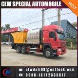 caminhão Synchronous para a venda, caminhão da selagem do cascalho do asfalto 8cbm do distribuidor do asfalto para a manutenção de estrada