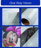 ガラスステッカーの一方通行の視野は、ビニールを見通す