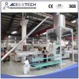 Лепешки PVC делая линию/линию Pelletizing пластмассы дробя