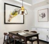 Moderne bernsteinfarbige hängende Glaslampen für Esszimmer verzieren hängende Beleuchtung
