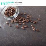 Brown-Based Piedra Cuarzo Artificial de la Mesa de comedor