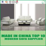 Dubai-modernes Wohnzimmer-Edelstahl-Leder-Sofa