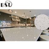La diverse taille de ventes en gros ébrèche la pierre blanche de quartz de Guangdong